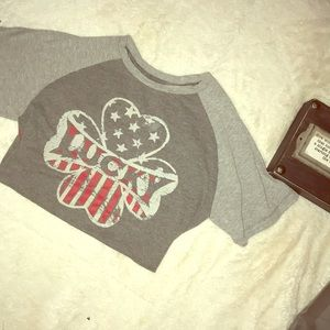 Boys lucky t shirt